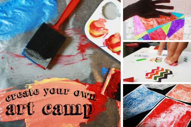 Create Your Own Art Camp