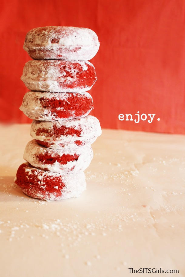 Red Velvet Baked Doughnut Recipe