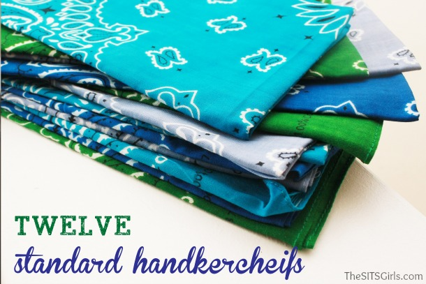 Make Your Own Handkerchief DIY Tablecloth