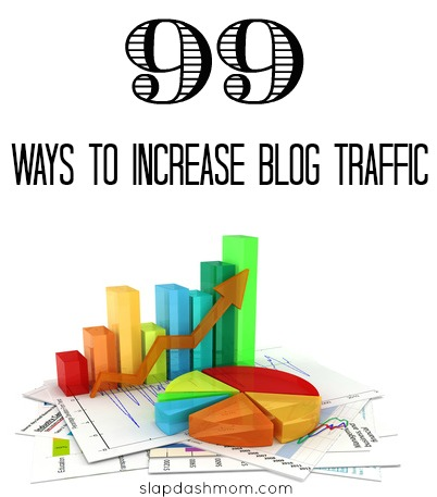99 Ways to Increase Your Blog Traffic