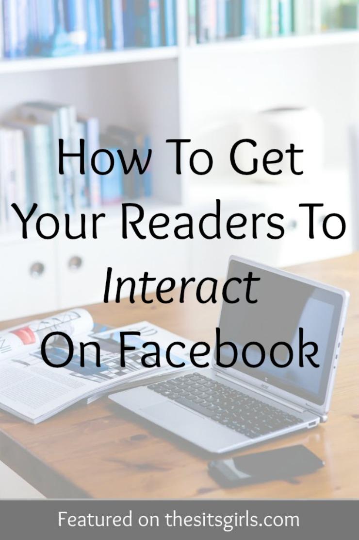 interact on facebook