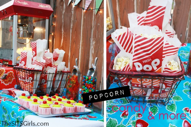 Backyard Movie Night DIY Party