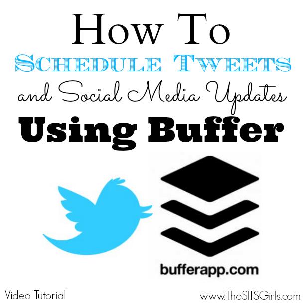 how to schedule tweets