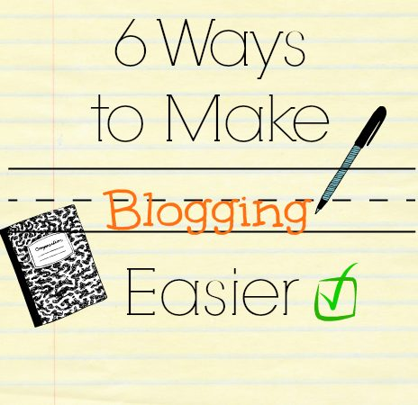 blogging easier