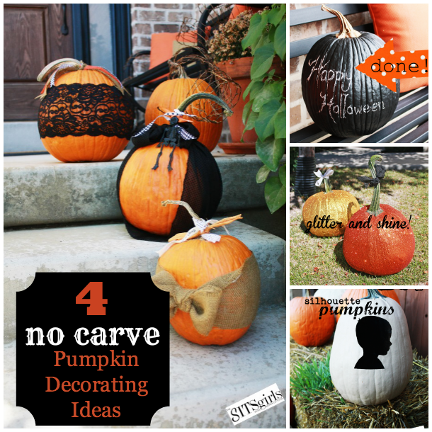 Gallery For Cool No Carve Pumpkin Decorating Ideas