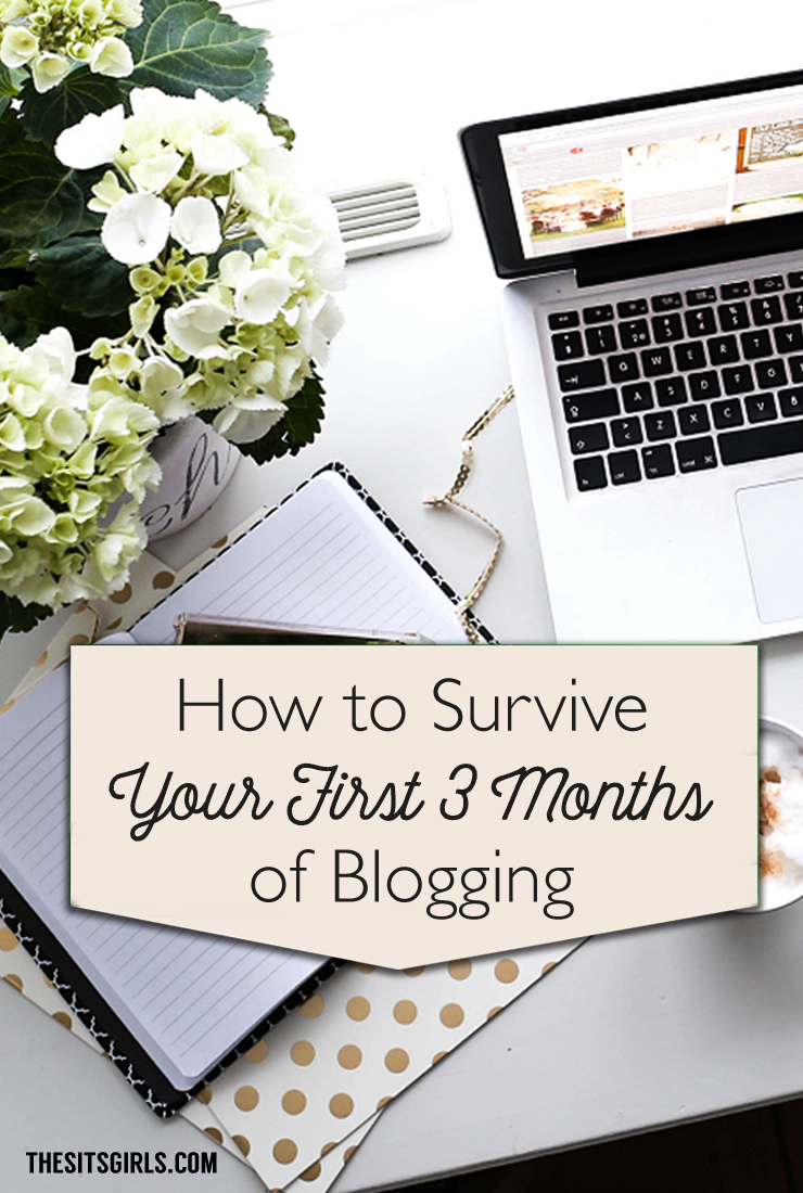How to survive your first three months of blogging without being (too) overwhelmed! Blog Tips