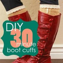 DIY Boot Cuffs
