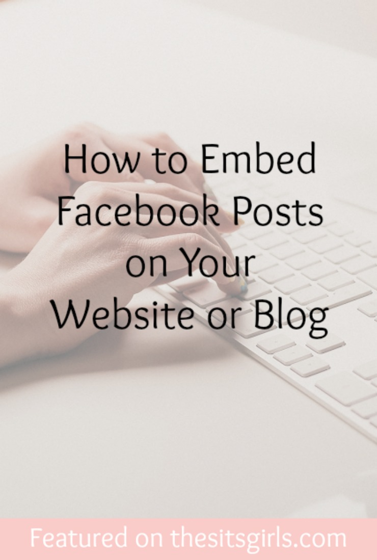 embed facebook posts