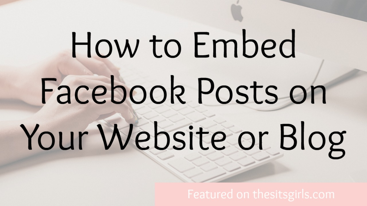 how to embed for blog post Here are 3 possible and safe ways to add a blog to a business website bascially i want more blog posts so i can classify my writing under one wordpress site.