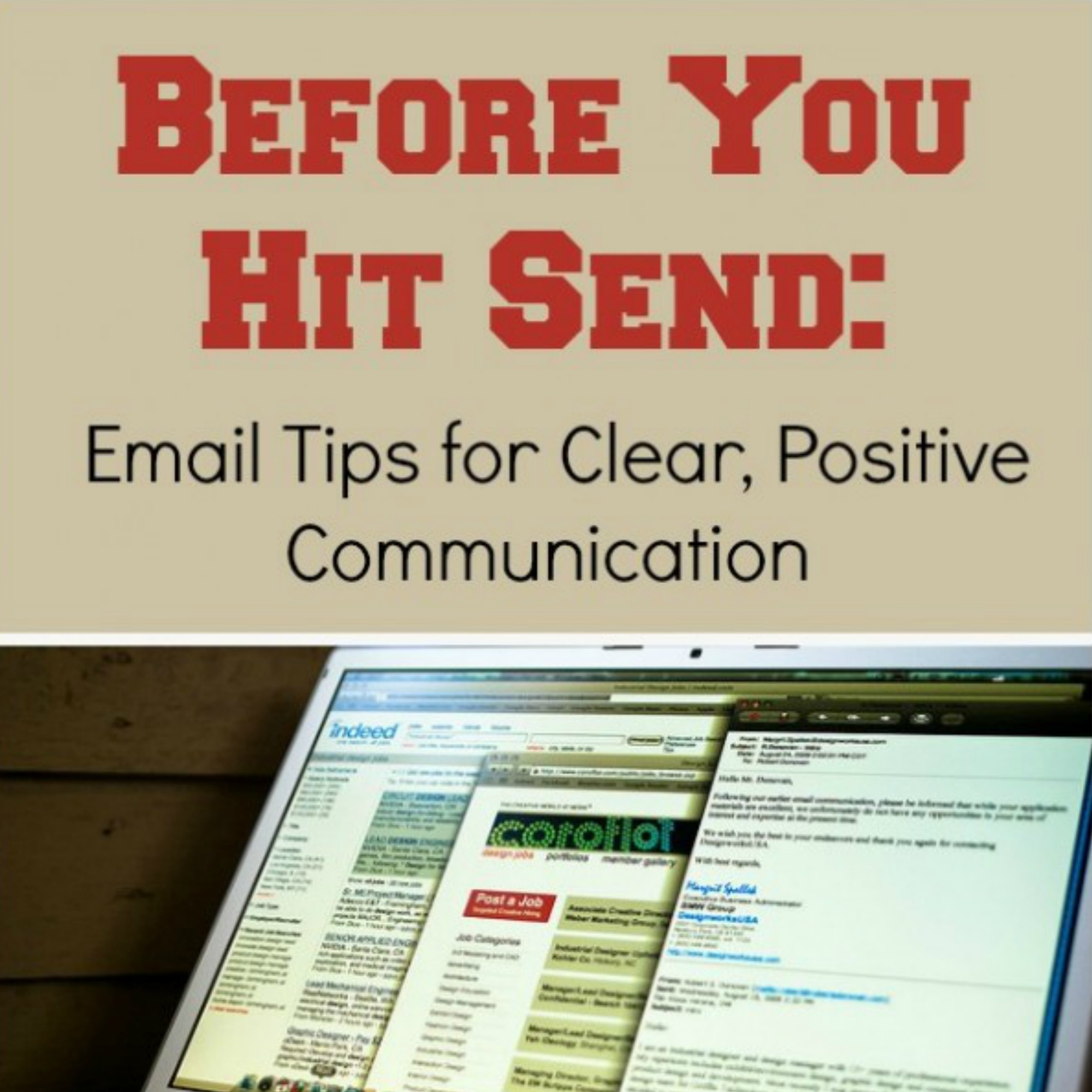 before you hit send email tips   the sits girls
