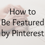 featured by pinterest
