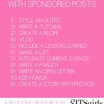 11 Ways to Get Creative and Make Money with Your Sponsored Posts