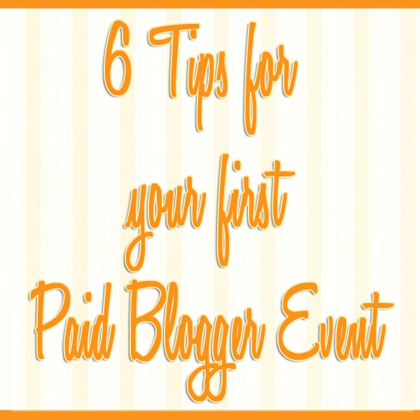 paid blogger event