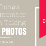 12 Tips to Improve Your Photography Skills