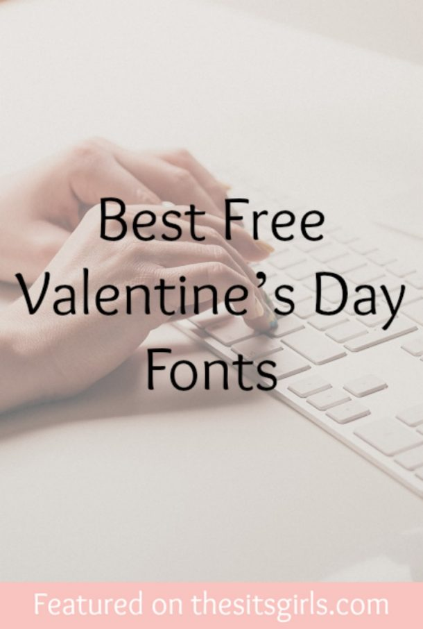 Valentine's Day Fonts