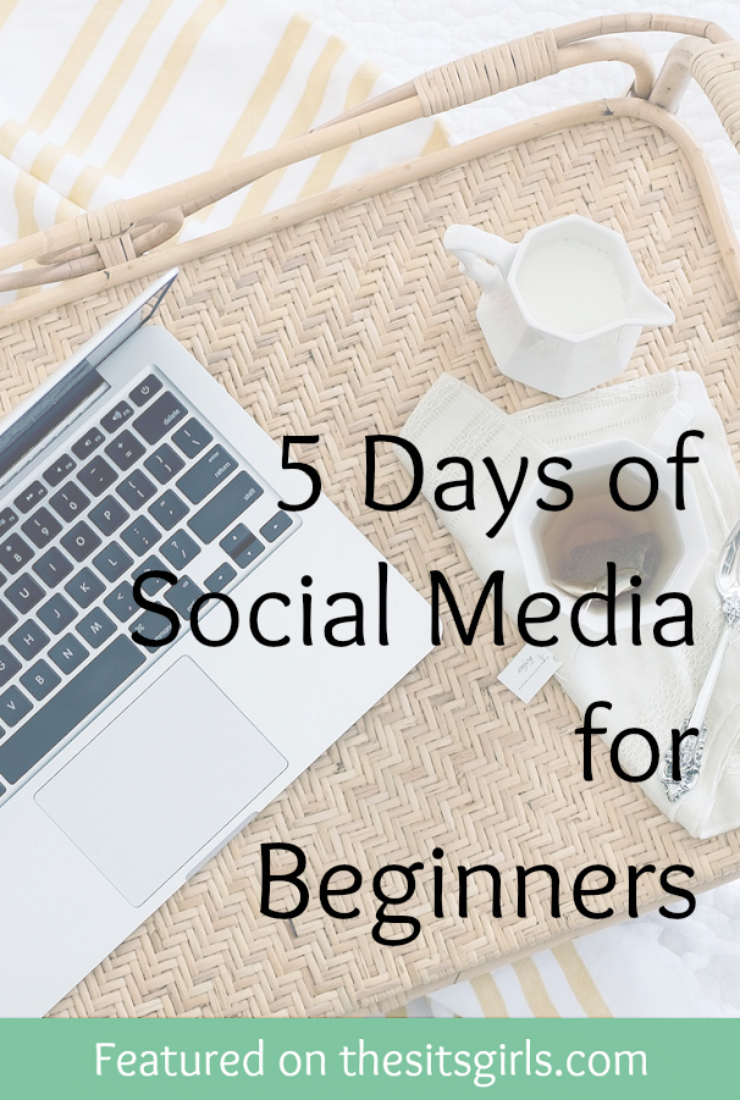 Jumpstart your social media presence by following this helpful, five-day plan.