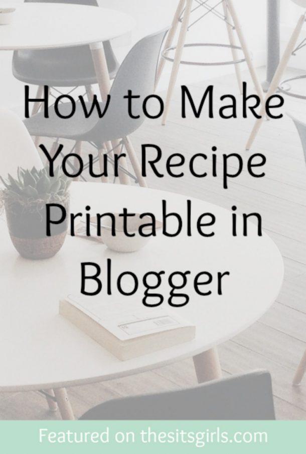 recipe printable