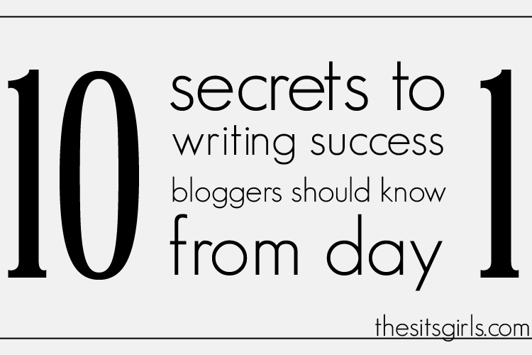secrets to writing success