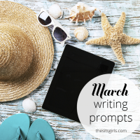31 Days of writing prompts for your blog in March.