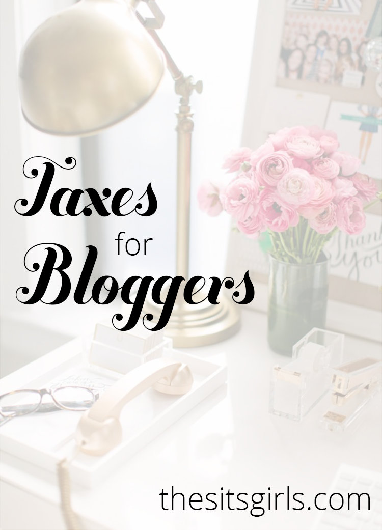 Everything you need to know about filing taxes when you are a blogger.
