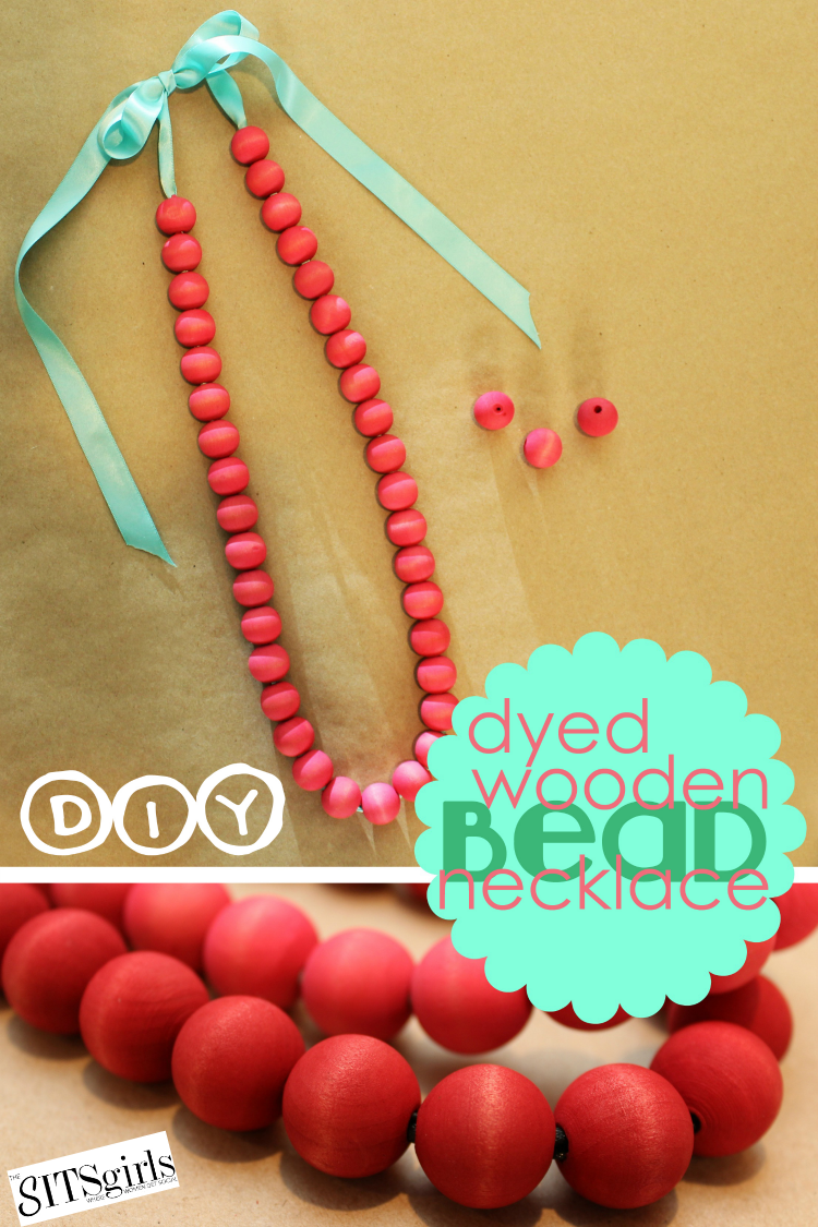 DIY Wooden Neckace