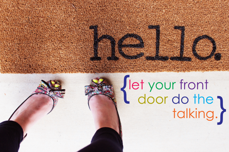 Easy Project For Summer Diy Personalized Door Mats