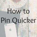 pin quicker