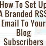 How to Setup an RSS Feed in MailChimp
