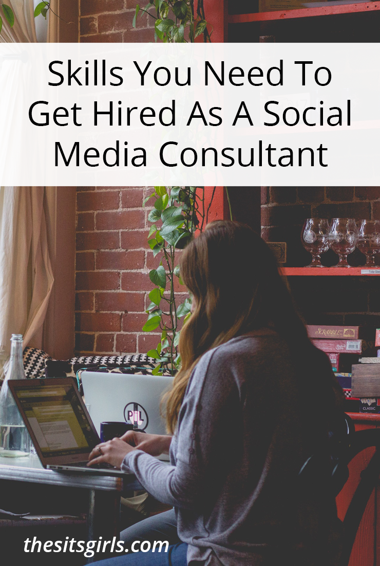 If you want to make money running social media for brands and businesses, you are going to need these skills!