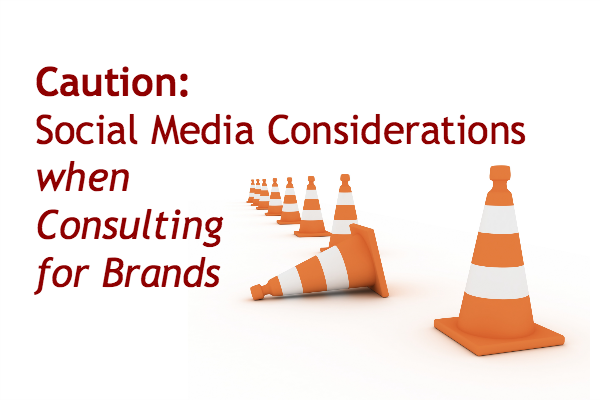 work as a social media consultant