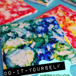 DIY Coasters: Coaster Making Fun with Watercolors