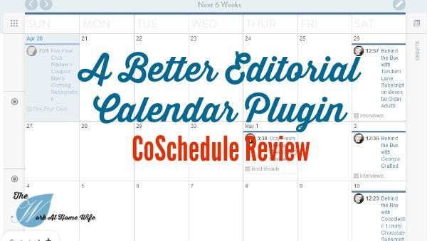 Better Editorial Calendar