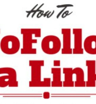 how to nofollow links