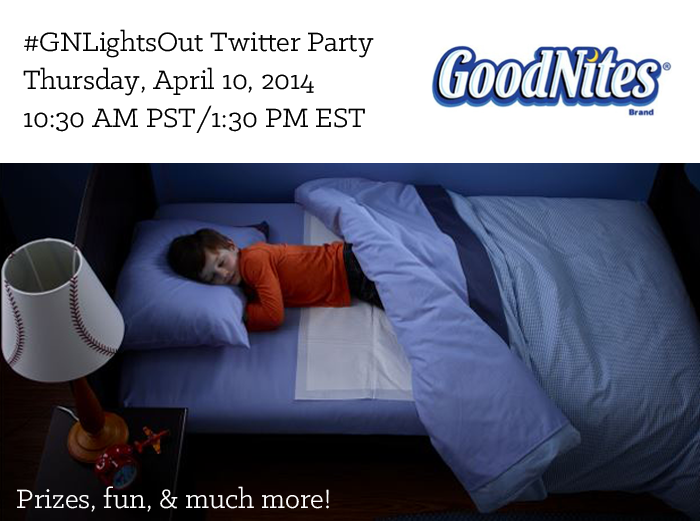 goodnites twitter party