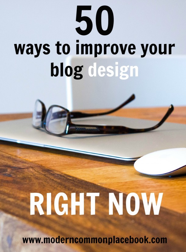 improve blog design