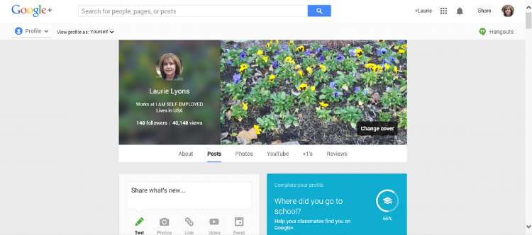 Google Plus Guide Profile