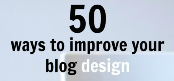 blog design tips