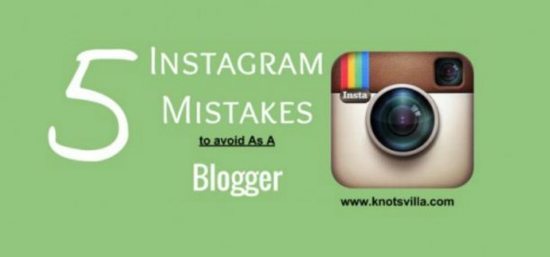 instagram blog tip