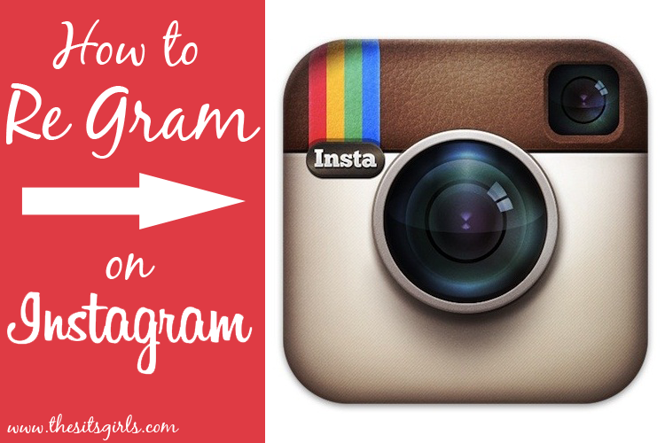 how to regram images