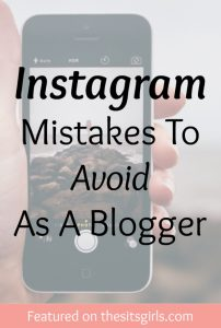 instagram mistakes