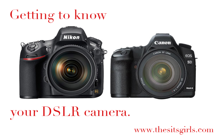 dslr terms for beginners