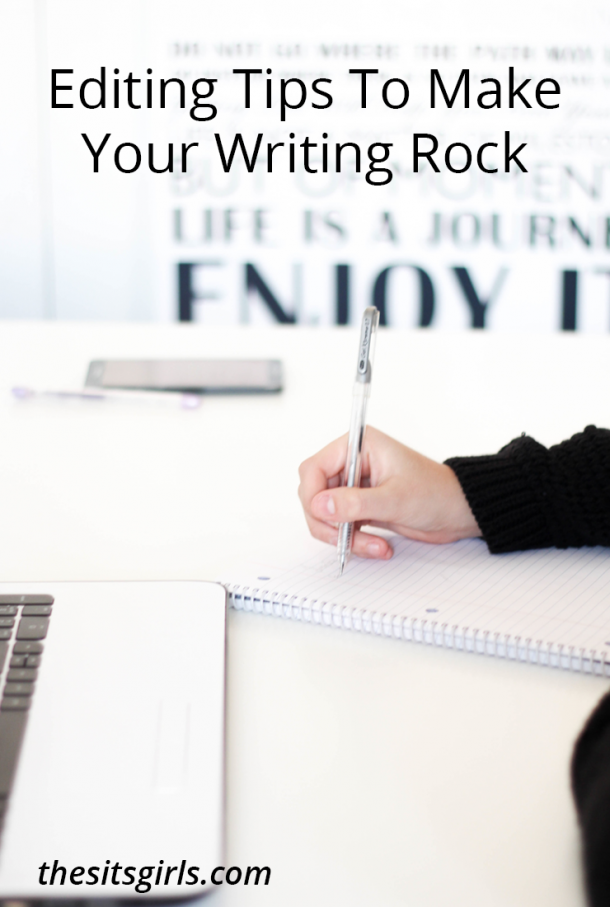 Don't have an editor to read every blog post before it goes live? No need to worry. These simple editing tips will help your writing rock.