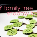 DIY Family Tree Shadow Box