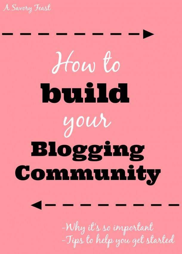 build your blogging community