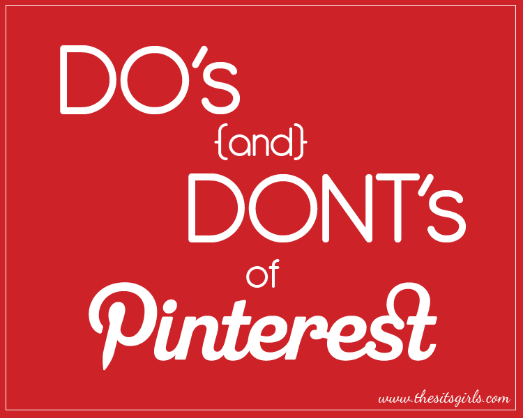 Now that you know how to create pinnable images, learn the do's and don'ts of Pinterest.