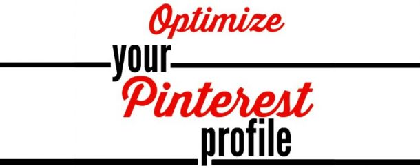 optimize your pinterest profile