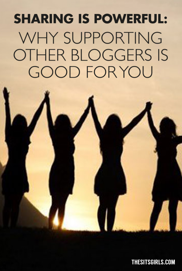 Sharing Is Powerful: Why Supporting Other Bloggers Is Good For You