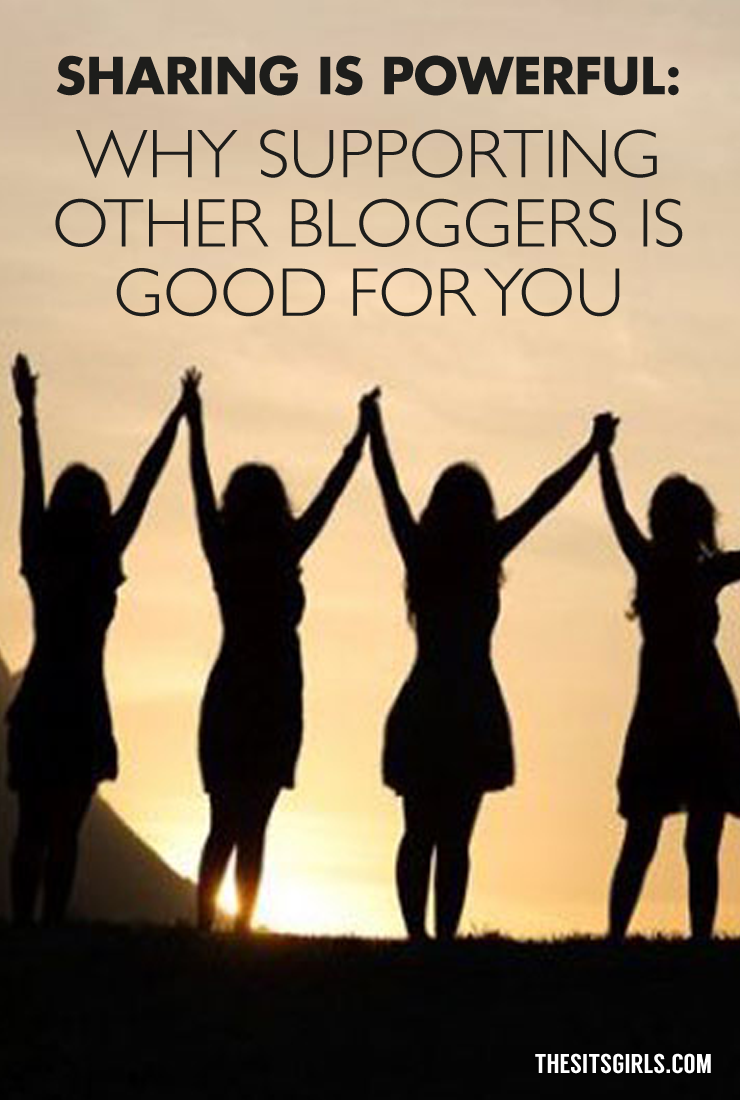 Social Media Sharing Is Powerful: Why Supporting Other Bloggers Is Good For You