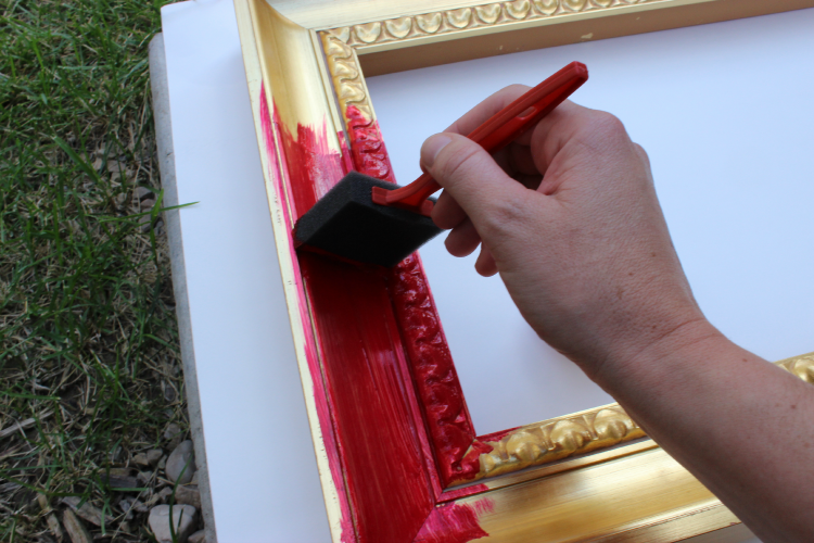 Paint Your DIY Message Board