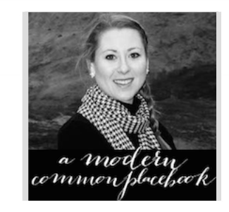 modern commonplace book featured blog